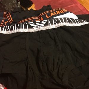 """new arrival clearance sale running shoes """"Armani Exchange"""" boxer briefs NWT"""
